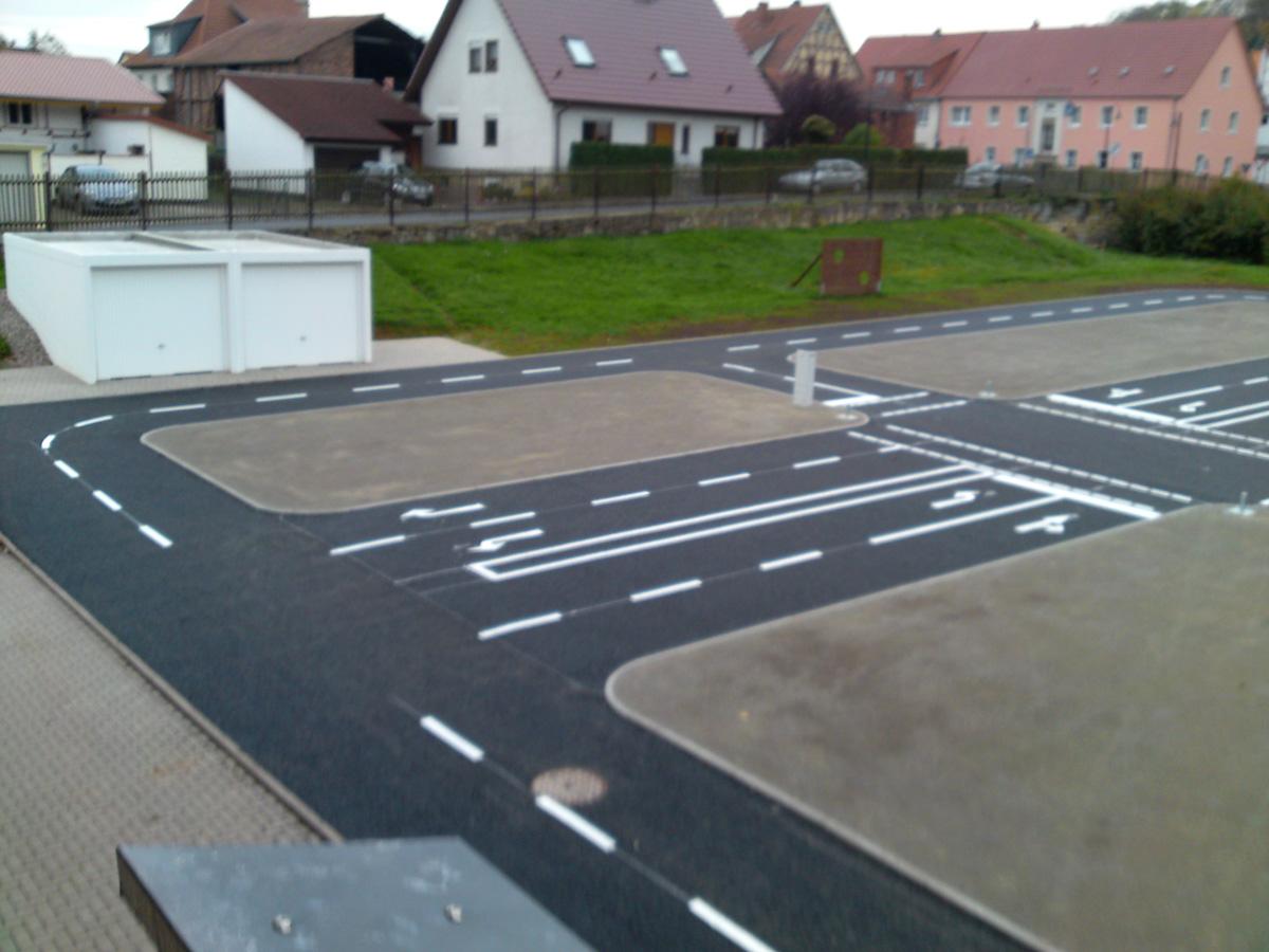 Strassenmarkierung 99974 Mühlhausen
